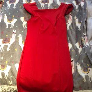 Mustard Seed Red Mini Dress Size Small